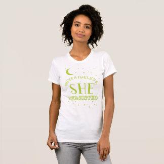 Néanmoins, elle a persisté pièce en t - Elizabeth T-shirt