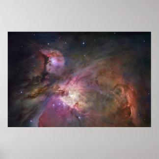 Nébuleuse au loin 1 d Orion Posters