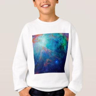 Nébuleuse d'Orion miroitant la NASA bleue Sweatshirt