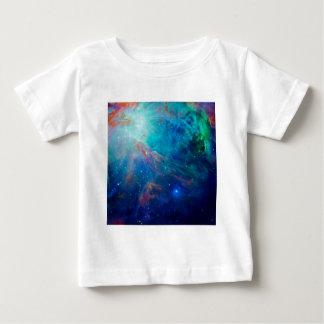 Nébuleuse d'Orion miroitant la NASA bleue T-shirt Pour Bébé