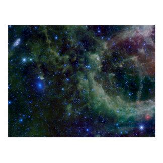 Nébuleuse IC 1805 de coeur Carte Postale