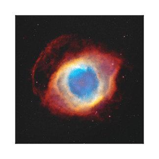 Nébuleuse planétaire NGC 7293 d'hélice - oeil de Toile