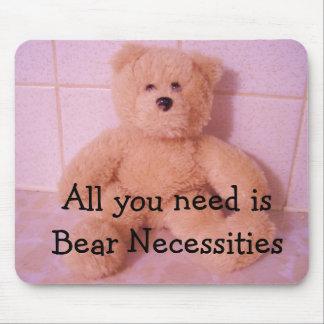 Nécessités d'ours tapis de souris