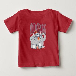 N'écoutant pas, par l'abbé de Greg T-shirt Pour Bébé