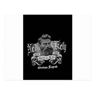 Ned Kelly - une légende australienne Carte Postale