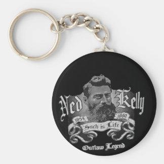 Ned Kelly - une légende australienne Porte-clé Rond