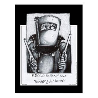 Ned Kelly : Voulu Carte Postale