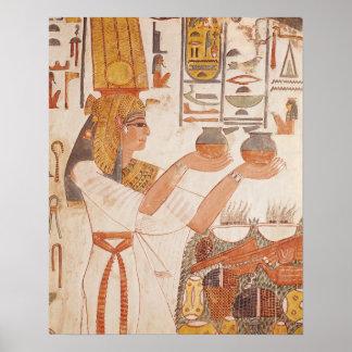 Nefertari faisant une proposition poster