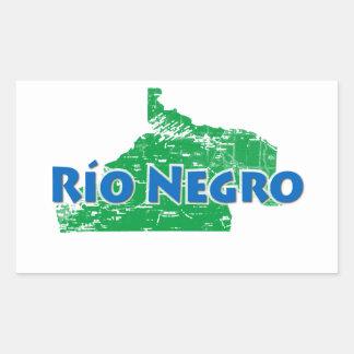 Nègre de Rio Sticker Rectangulaire