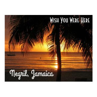 Negril, carte postale de la Jamaïque