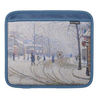 Neige, Boulevard de Clichy, Paris, 1886 Poches iPad