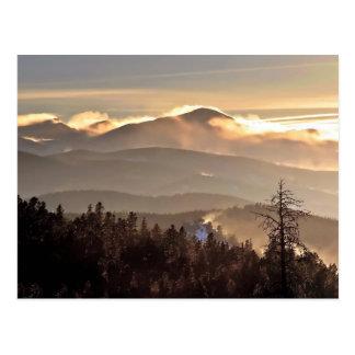 Neige de dérive - crête de James, le Colorado Carte Postale