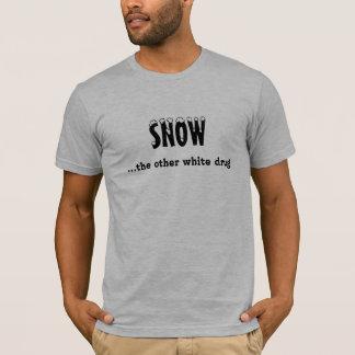 """""""Neige… de l'autre T-shirt de Sledders.com drogue"""