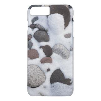 Neige et roches, parc national de mont Rainier 2 Coque iPhone 7 Plus