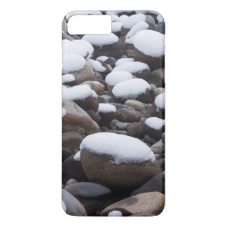 Neige et roches, parc national de mont Rainier Coque iPhone 7 Plus