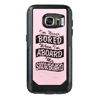 N'EMBARQUEZ JAMAIS À BORD de mon SURF DES NEIGES Coque OtterBox Samsung Galaxy S7