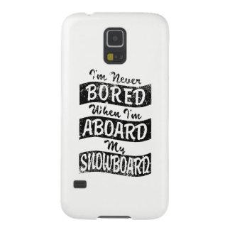 N'EMBARQUEZ JAMAIS À BORD de mon SURF DES NEIGES Coque Pour Samsung Galaxy S5