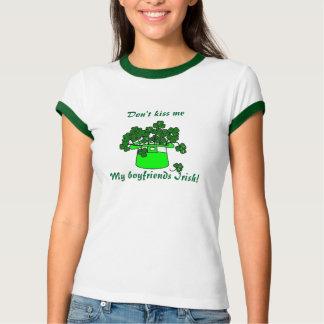 N'embrassez pas le jour de -St Patrick T-shirt