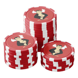 N'entendez aucun jeton de poker mauvais jetons de poker