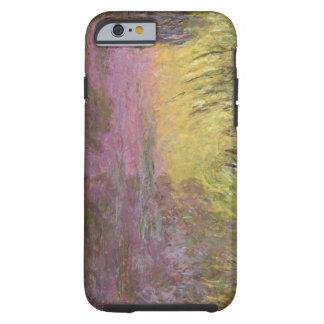 Nénuphars de Claude Monet   au coucher du soleil Coque iPhone 6 Tough