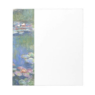 Nénuphars de Claude Monet // Blocs Notes