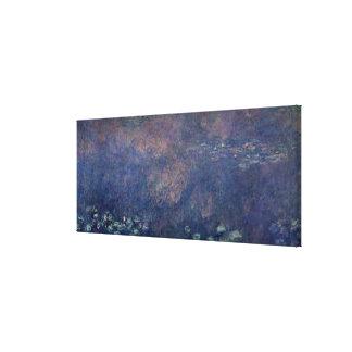 Nénuphars de Claude Monet   : Centre de saules Toiles