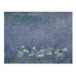 Nénuphars de Claude Monet | : Matin, 1914-18 Carte Postale