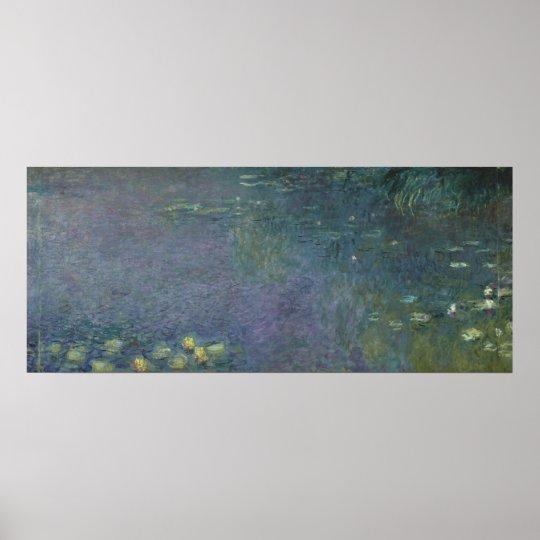 Nénuphars de Claude Monet | : Matin, 1914-18 Poster