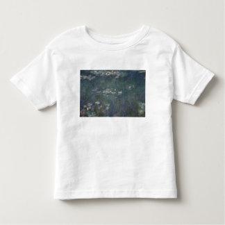 Nénuphars de Claude Monet | : Réflexions vertes T-shirt Pour Les Tous Petits