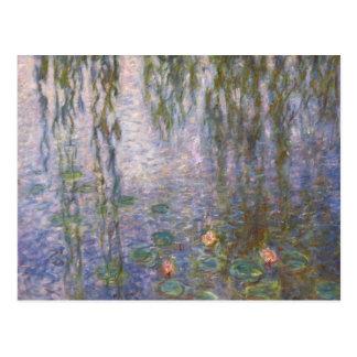 Nénuphars de Monet Cartes Postales