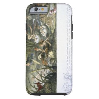 Nénuphars et fées de l'eau, illustration de coque tough iPhone 6