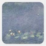 Nénuphars : Matin, 1914-18 Sticker Carré