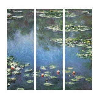 Nénuphars par Claude Monet, fleurs vintages Toiles
