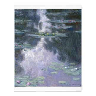 Nénuphars par Claude Monet Prospectus En Couleur