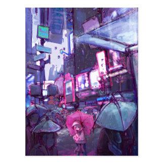 Néo- carte postale de New York