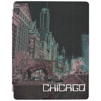 NÉON DU MUSÉE D'ART 1967 D'AVENUE DE CHICAGO PROTECTION iPad