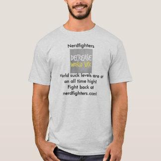 Nerdfighters, monde de diminution sucent t-shirt