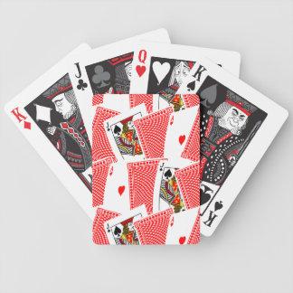 Nerf de boeuf cartes à jouer