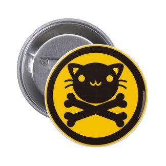 Nerf de boeuf (chat) pin's