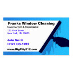 Nettoyage de vitres PERSONNALISABLE AVANT JÉSUS CH Cartes De Visite Personnelles