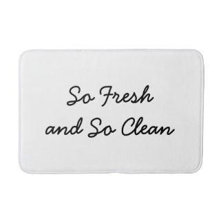 Nettoyez ainsi le tapis de bain