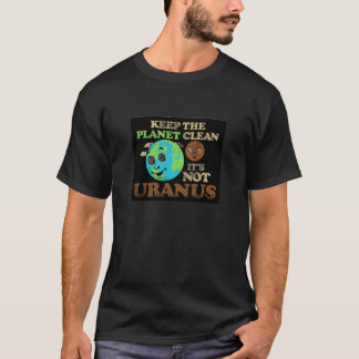 Nettoyez la planète t-shirt