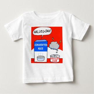 Nettoyez le bébé chrétien évangélique drôle de t-shirt pour bébé