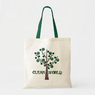 nettoyez le sac du monde