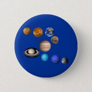 Neuf planètes dans le système solaire pin's
