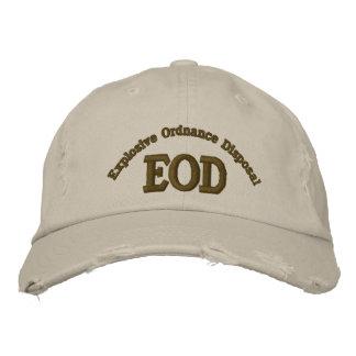 Neutralisation des munitions explosives, EOD Casquette Brodée