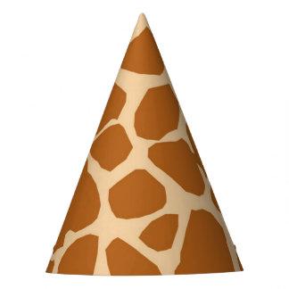 Neutre animal de safari de jungle d'arrière - plan chapeaux de fètes