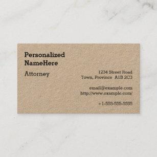 Neutre Carte De Visite Professionnel Loi