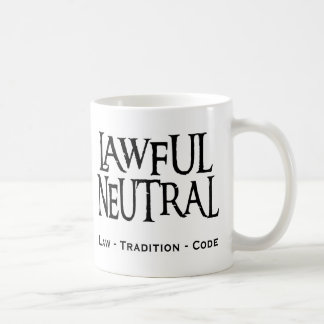 """Neutre légal "" Mug"