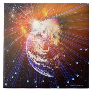 Neutrinos 2 grand carreau carré